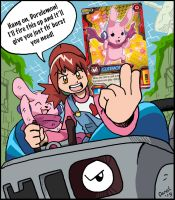 Digimon Fusion (DZX): Cute Card Stock! by BlueIke