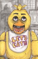 Five Nights At Freddy's Chica by ChrisOzFulton