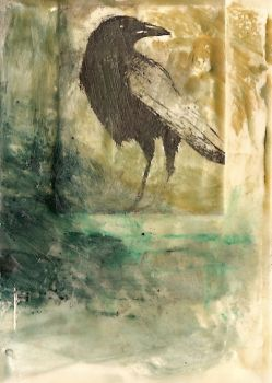 Sentinel, Alert ACEO by SethFitts