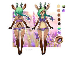 Deer Adopt custom for Donnecha by Valkeera