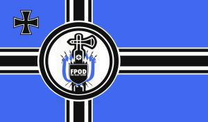 -The Blue Front Group- Reichskriegsflagge by AmericanSFR