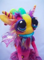 Rainbow Whistle Pop Goblin- by Tanglewood-Thicket
