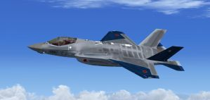 F-35A JASDF Aggressor Blue by agnott