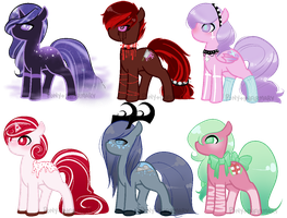 { adopts . 3 } CLOSED by Pony-Infirmary
