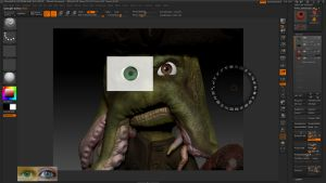 Making of Eye for lil' Davy.. by oxide1xx