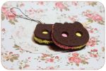 Cookie Cat Charms by Tiny-Owl