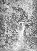 Faerie Gate: Finished Pencil by giadrosich