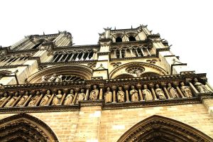 Perspective of Notre Dame by YunakiDraw