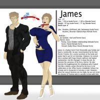 James - OC Character by spartasko