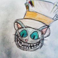 Cheshire cat by luiganddaisy