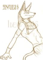 Anubis by Idess