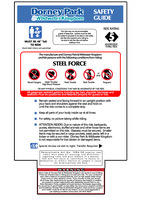 Dorney's Safety Guide Sign by Randydorney