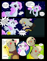 Discord X Celestia comic - Page 3 by VanillaMelodyPegasus