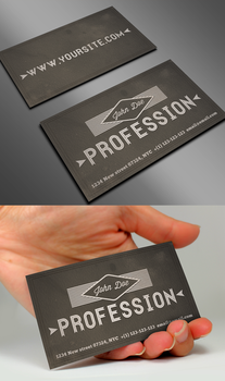 Vintage Business Card II by Nyz87