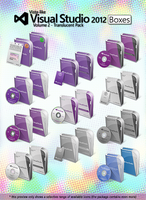 Vista-like Visual Studio 2012 Boxes - Vol.2 by MTB-DAB