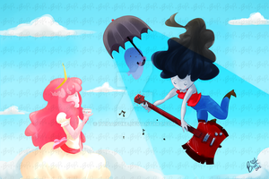 Marcy and Peebles AN 2012 by TaiDaisuke