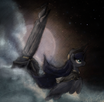 Captain Luna Fanart by Hewison