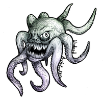 Undead Architeuthis by Morde