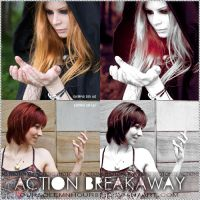 PHOTOSHOP ACTIONS + BREAKAWAY by oursolemnhour89