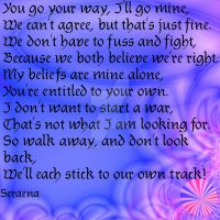 Walk Away by Seraena