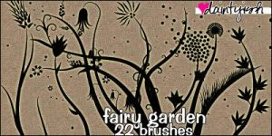 Fairy Garden PS Brush Set by daintyish