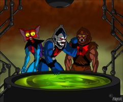 The slime is ready Hordak! by MikeBock
