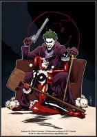 Joker + Harley: It's complicated by ChrisEvenhuis