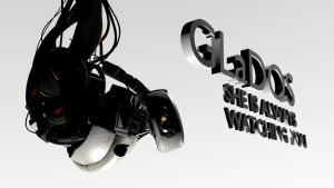 GLaDOS Wallpaper 2 by Gonardtron2