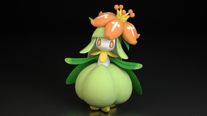 #549. Lilligant by TheAdorableOshawott
