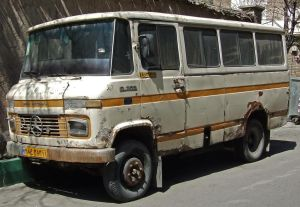 Old Iranian Bus 2 - IKCO by fuguestock