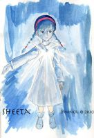 Sheeta from Laputa by Stealthos-Aurion