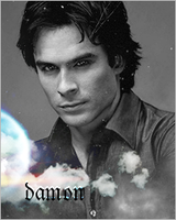 damon salvatore by rockerannah