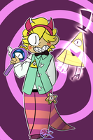 BILL vs the forces of evil by psionicsuperkitty