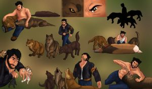 A Wolverine Among Wolves by MegBeth