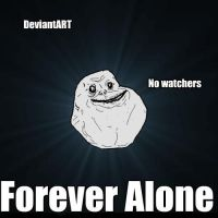 Forever alone On Deviant ART by InstaneStar