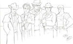 Untouchables sketch by AdamWithers by RBL-M1A2Tanker