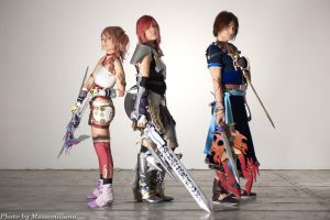 Parallel Word - FFXIII-2- by LightningTheArtist