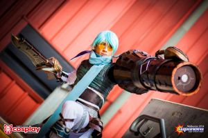 .hack//GU Ovan - Steam Gun Barrage by AmenoKitarou