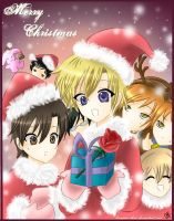 -- Ouran Christmas -- by HostClub