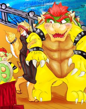 Date with Bowser by Fantasytraveler