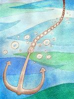 Sinking Anchor by Scunosi