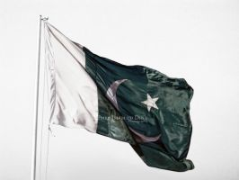 THe  Pakistani Flag by umerr2000