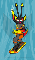 Astro - Riverboarding by Firestorm-CAN