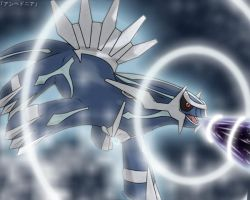 Dialga - Roar of Time by roddz-art