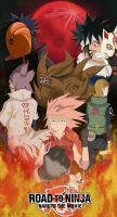 AU Sakura Tribute -Road To Ninja Movie- by Bollybauf-chan