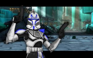 Clone Captain Rex by Cydel