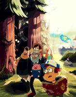 Gravity Falls by student-yuuto
