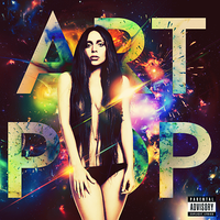 Lady Gaga - ARTPOP CD COVER by GaGanthony