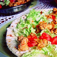 chicken salad unwrapped by CocoaDesert