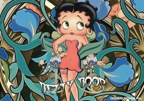Betty Boop - Art Nouveau (2012) by jdesigns79